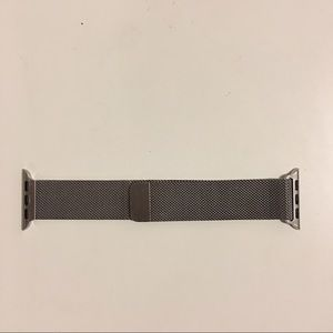 Apple Watch Milanese Loop Strap Silver